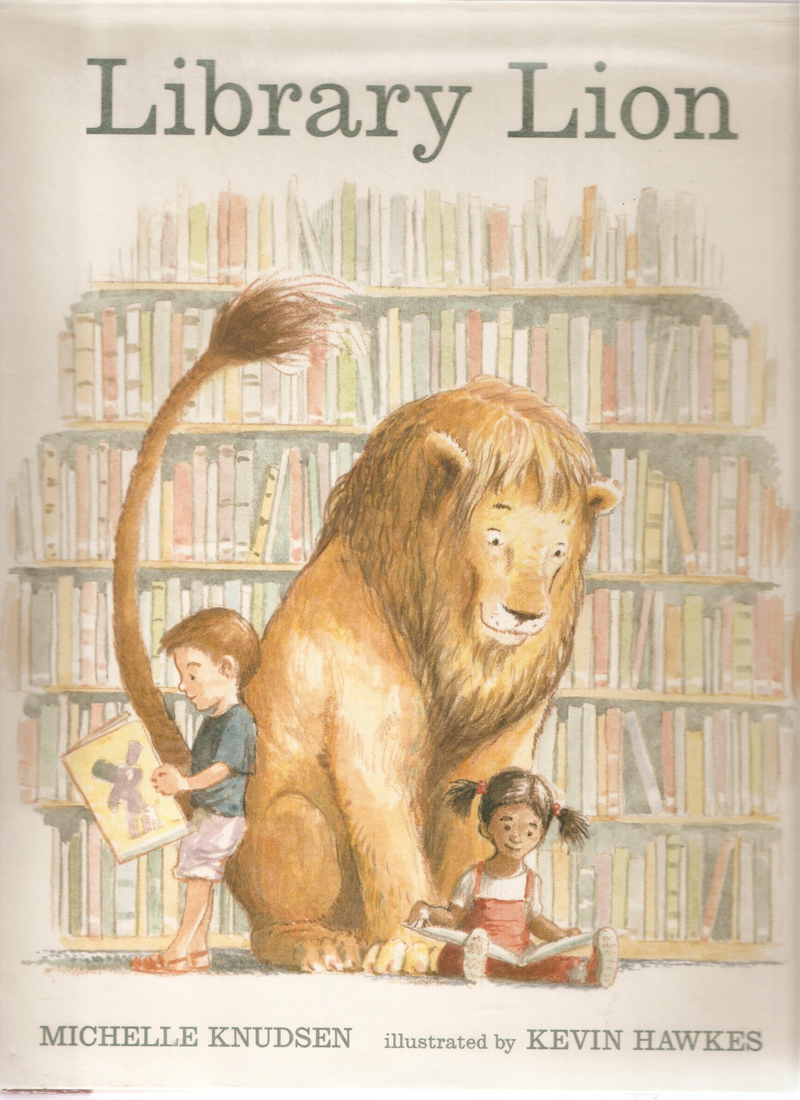 book show loving lion