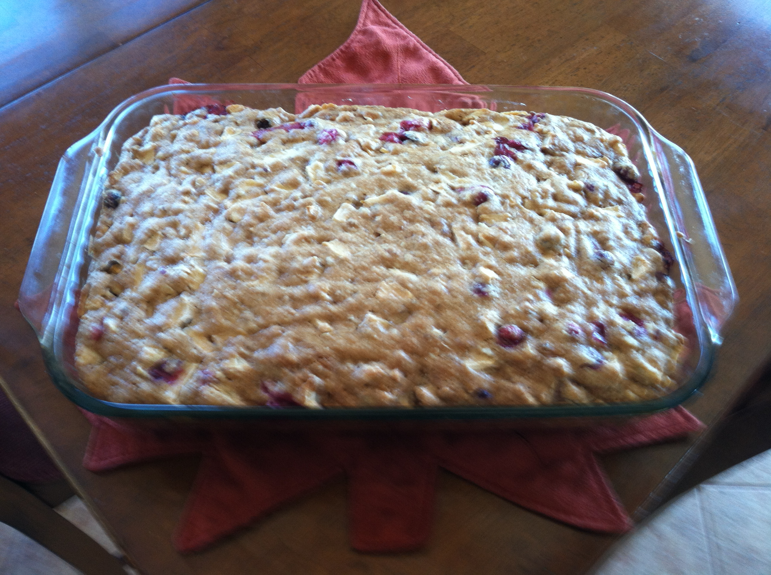 Apple-Cranberry Cake