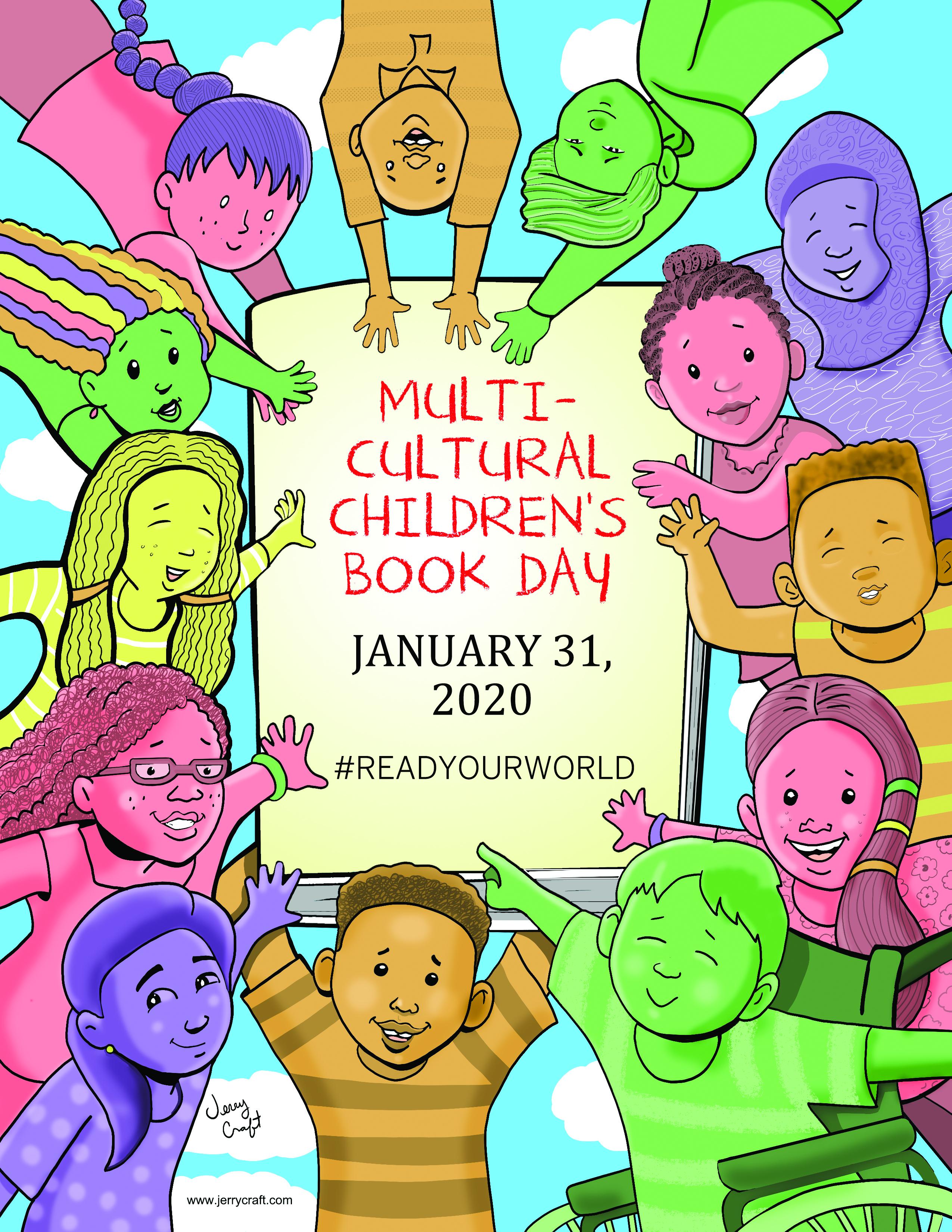 MultiCulturalChildrensBookDay 2020 poster